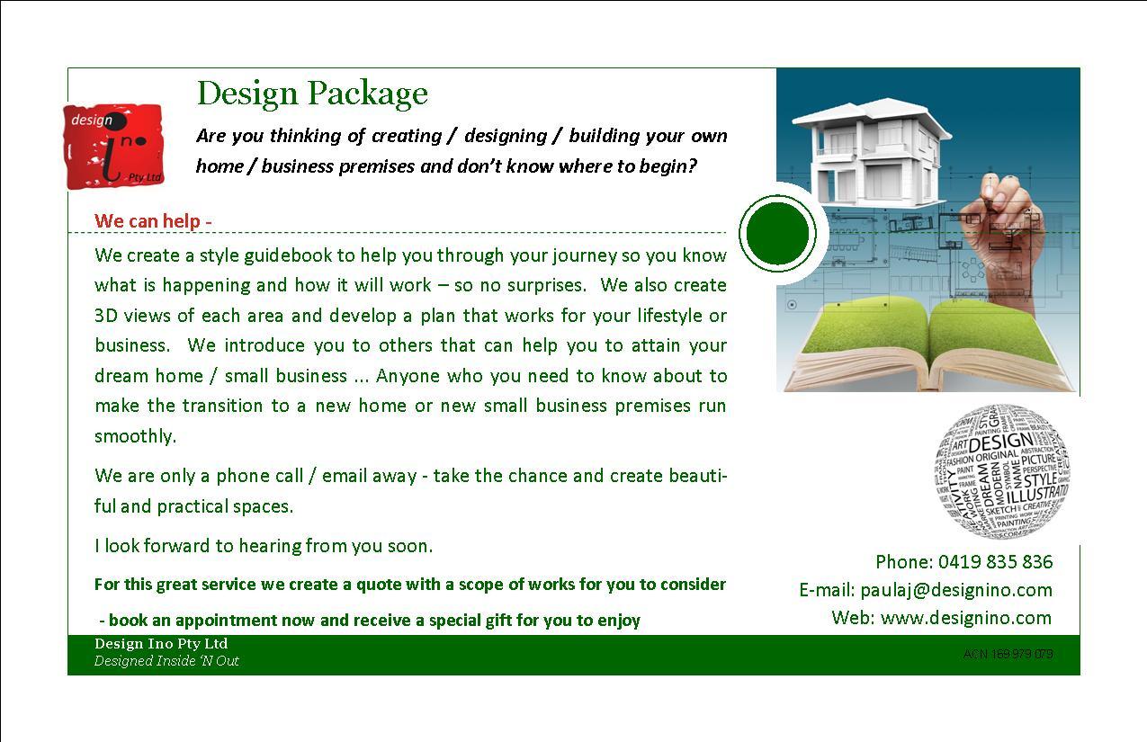 Design services - design ino 2014